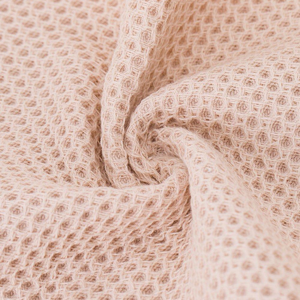rosso, grigio, marrone, beige 4 colori CHRISLZ/ 4-pack/ Asciugamani in cotone 100/%/ Asciugamano di puro colore/ Washcloth a forma di nido dape/ Asciugamani per il viso/