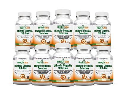 Enzimas Digestivas (Digestive Enzymes) Suministro de 30 Días Para Mejorar la Digestión 90 Días de Garantía de Devolución de Dinero