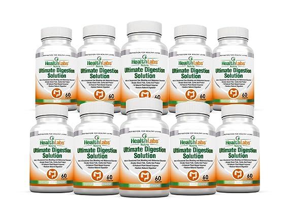 Enzimas Digestivas (Digestive Enzymes) Suministro de 30 Días Para ...