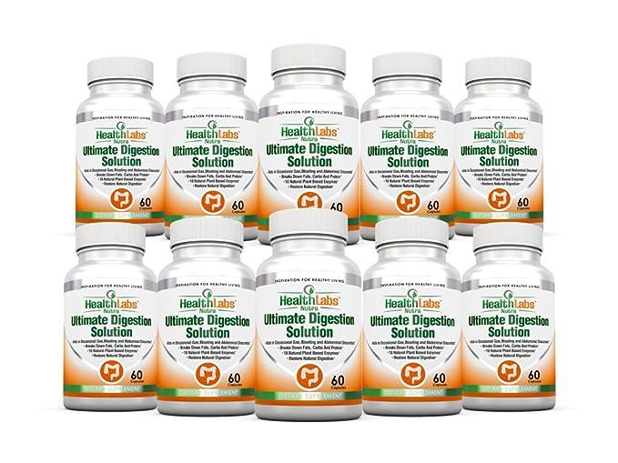 Enzimas Digestivas (Digestive Enzymes) Para Mejorar la Digestión 90 ...