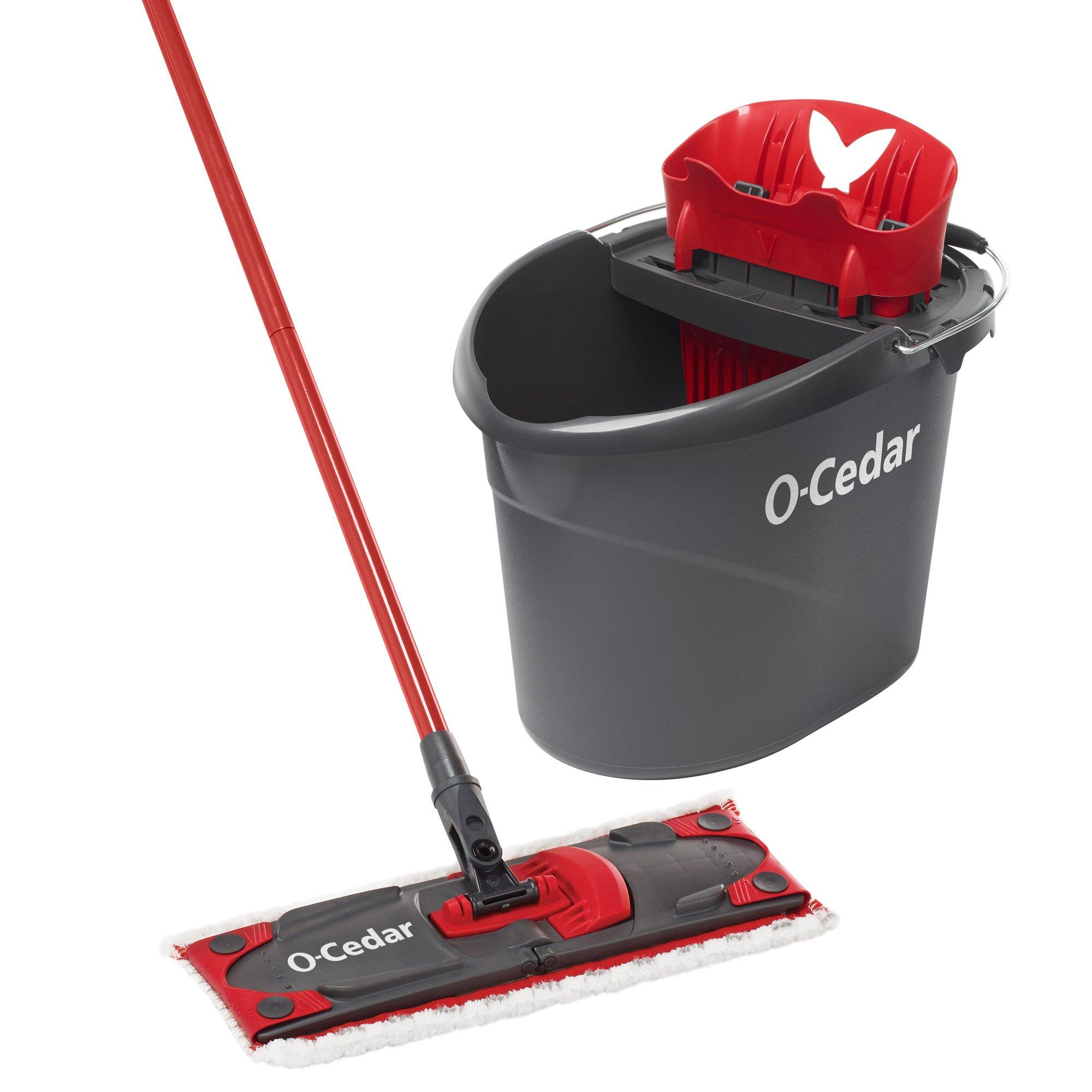 O-Cedar UltraMAX Microfiber Flat Mop & Bucket Kit by O-Cedar