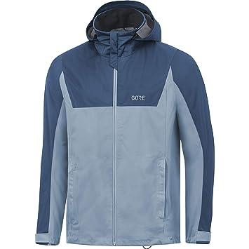 Gore Wear 100058 Chaqueta impermeable de running con capucha para hombre: Amazon.es: Deportes y aire libre