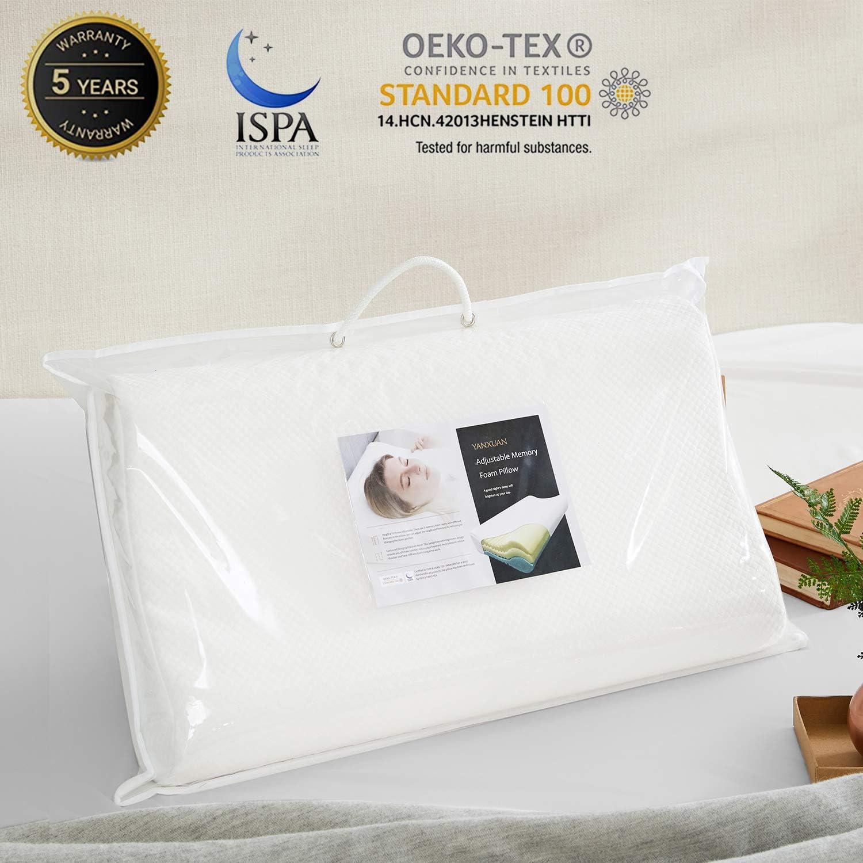 YANXUAN Adjustable Memory Foam Pillow