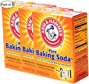 Arm & Hammer - Pure Baking Soda for Scratchless Cleaning (227g) (Pack of 3)