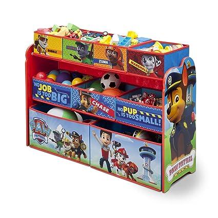 Nickelodeon Paw Patrol Deluxe Multi Bin Toy Organizer