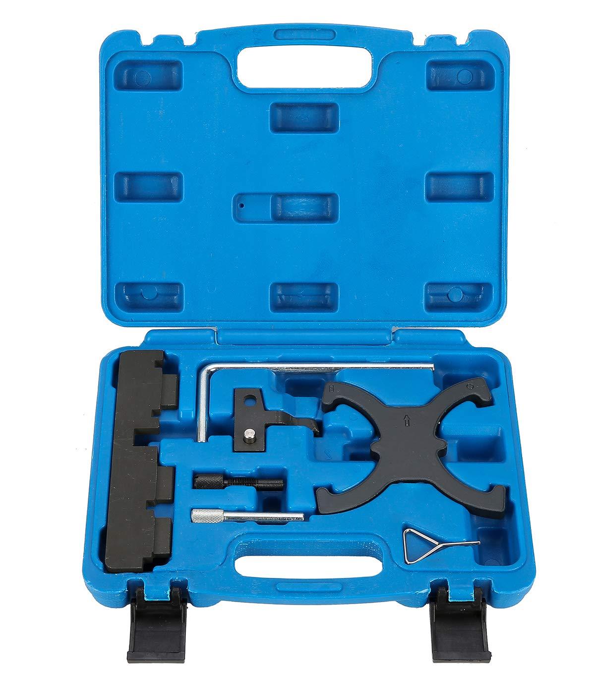 8MILELAKE Engine Camshaft Timing Locking Tool Set Kit for Ford Focus 1.6 Mazada 1.6 Eco Boost Volvo freebirdtrading ZR8520