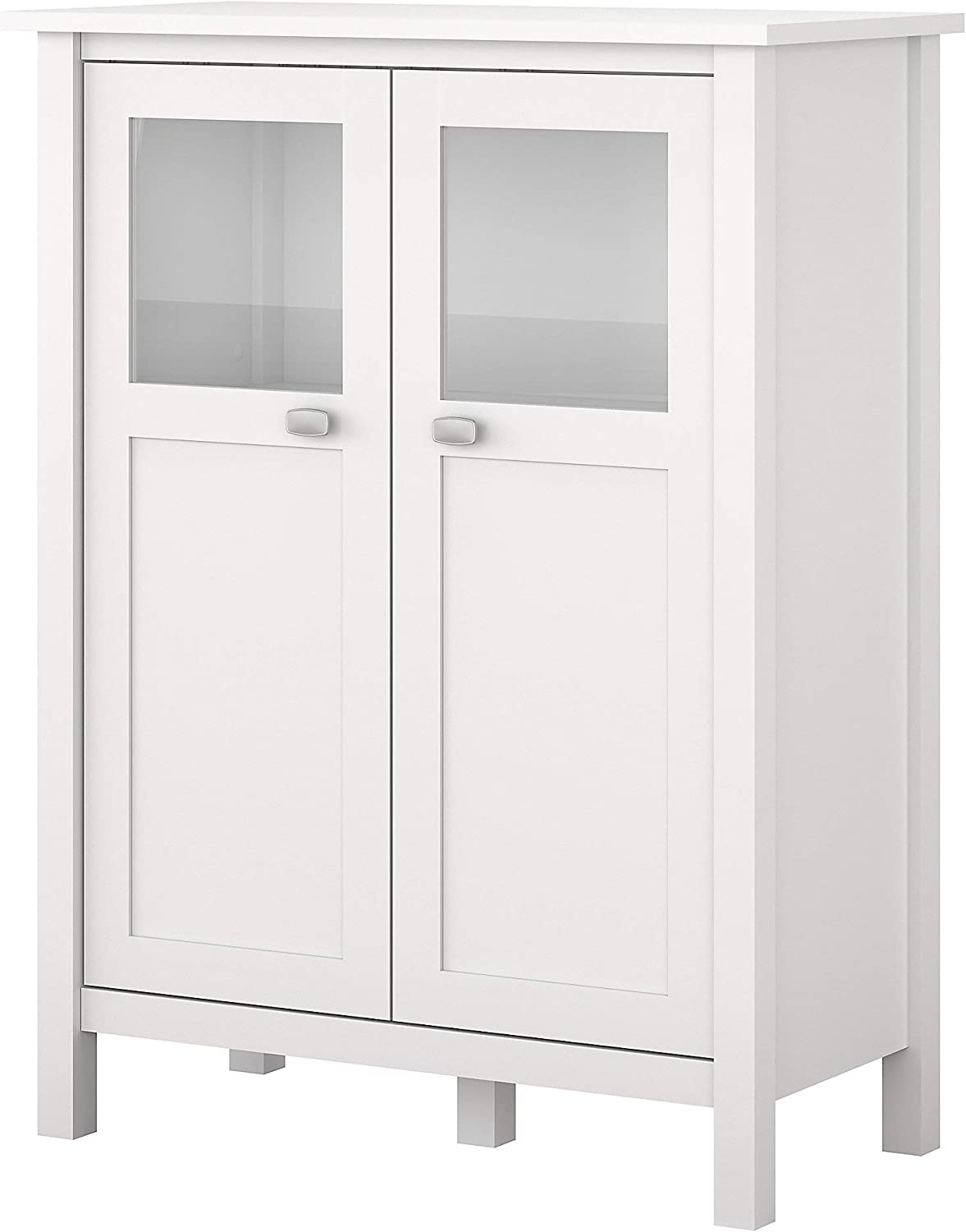Bush Furniture Broadview Bathroom Storage Cabinet in White