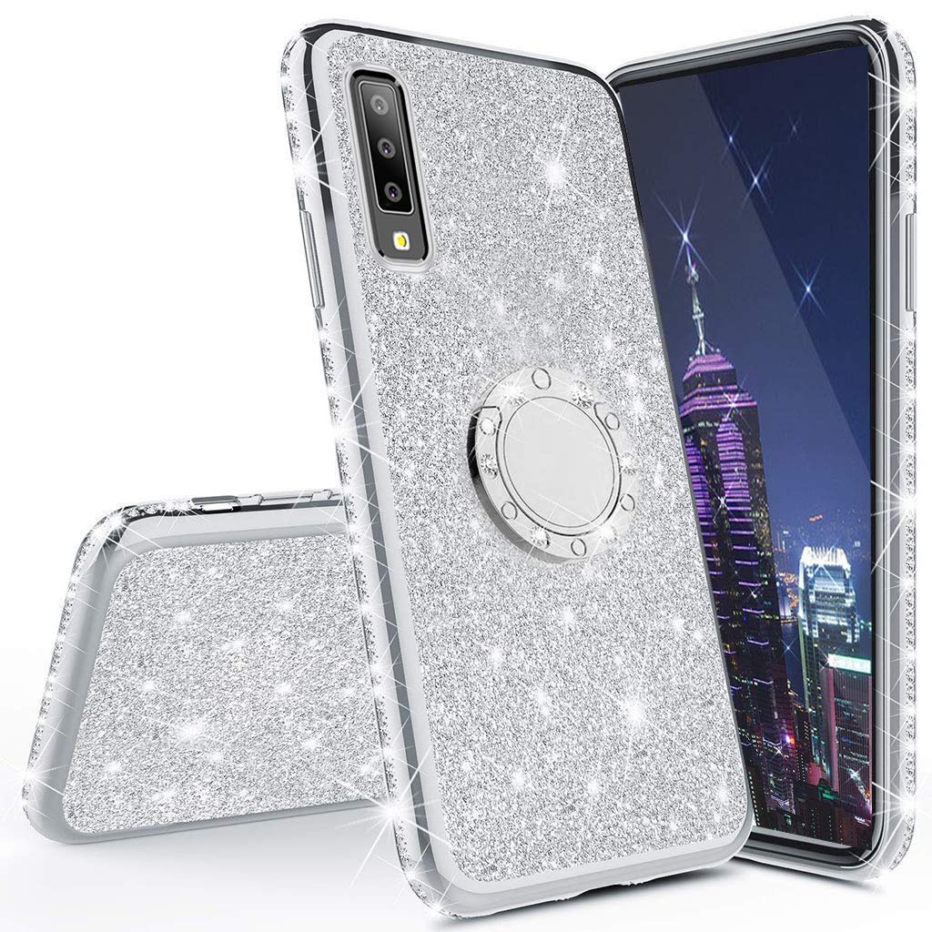 Funda Para Samsung Galaxy A70 Glitter Con Pie Cotdinforca [7tqsd1nc]