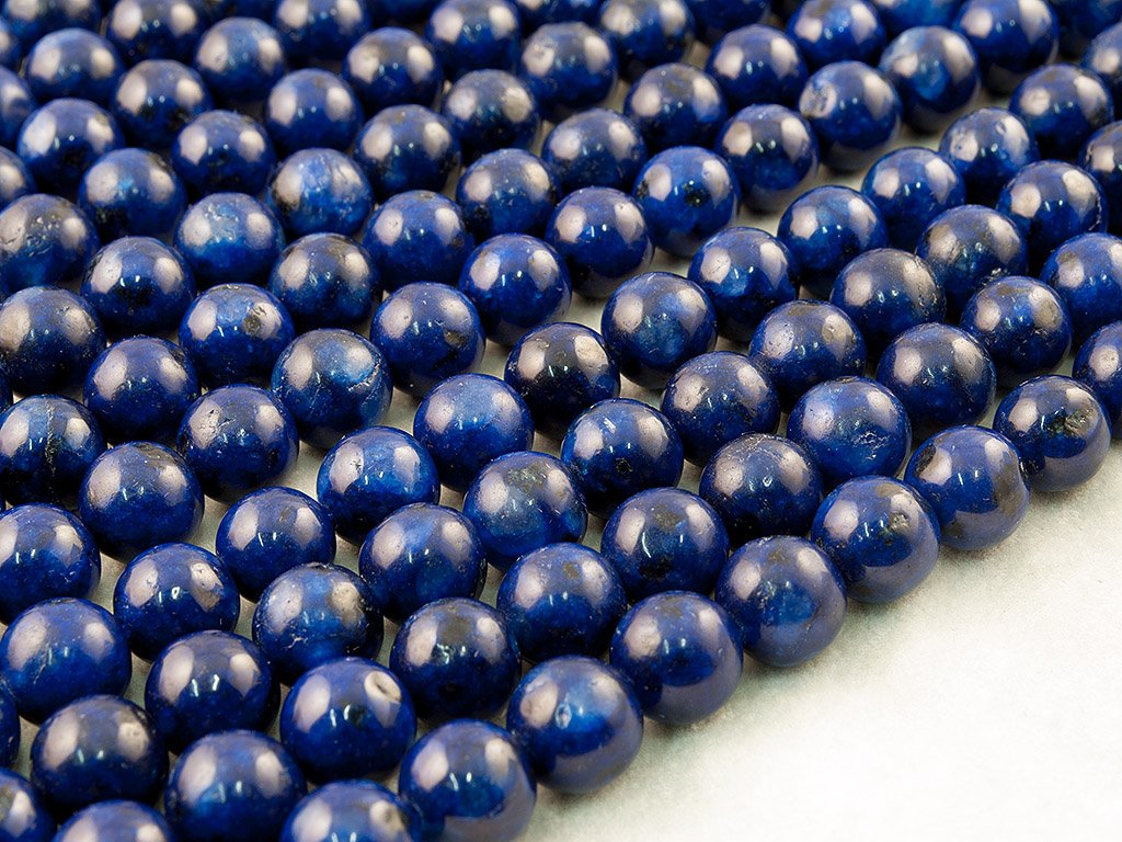 12mm Beads Ok Teint/ée Environ 38cm Un Fil. Perle en Pierre Semi-pr/écieuse Kiwi Jaspe in Lapis Colour Ronde DIY Kiwi Jasper in Lapis Colour, Color Enhanced, Plain Round Bead