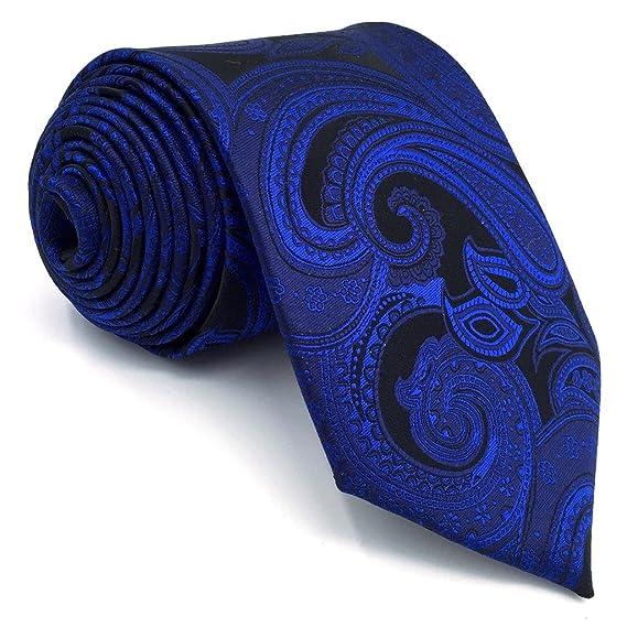 shlax&wing Corbatas Para Hombres Cachemir Tie Multicolor Nuevo Design único 57.5