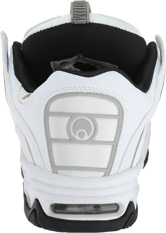 Osiris Men's D3 2001 Skate Shoe White/Grey/Black