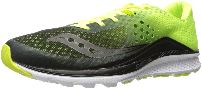 Saucony Kinvara 8, Zapatillas de Running para Hombre 44.5 EU Varios Colores (Negro / Limón Amarillo / Blanco)