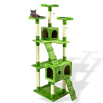 DEMA - Rascador para gatos Árbol Verde 180 cm: Amazon.es: Bricolaje y herramientas