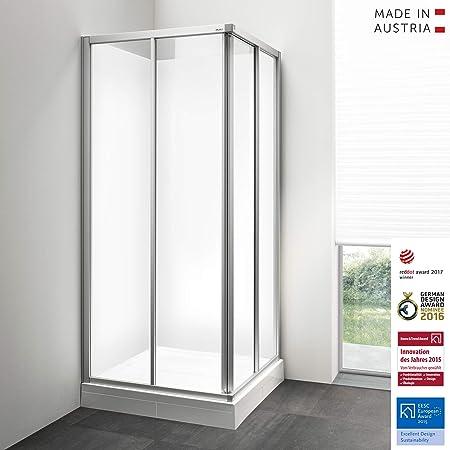 Palme ducha completa I compuesta de puertas correderas con mecanismo de orientación, paneles traseros de aluminio