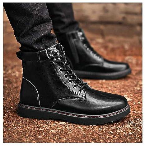 da4e60caa Amazon.com: Tebapi Mens Backpacking Boots Men Boots Fashion Martin ...