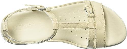 2017 Schuhe Damen ECCO Flash T Strap Schwarz Dress