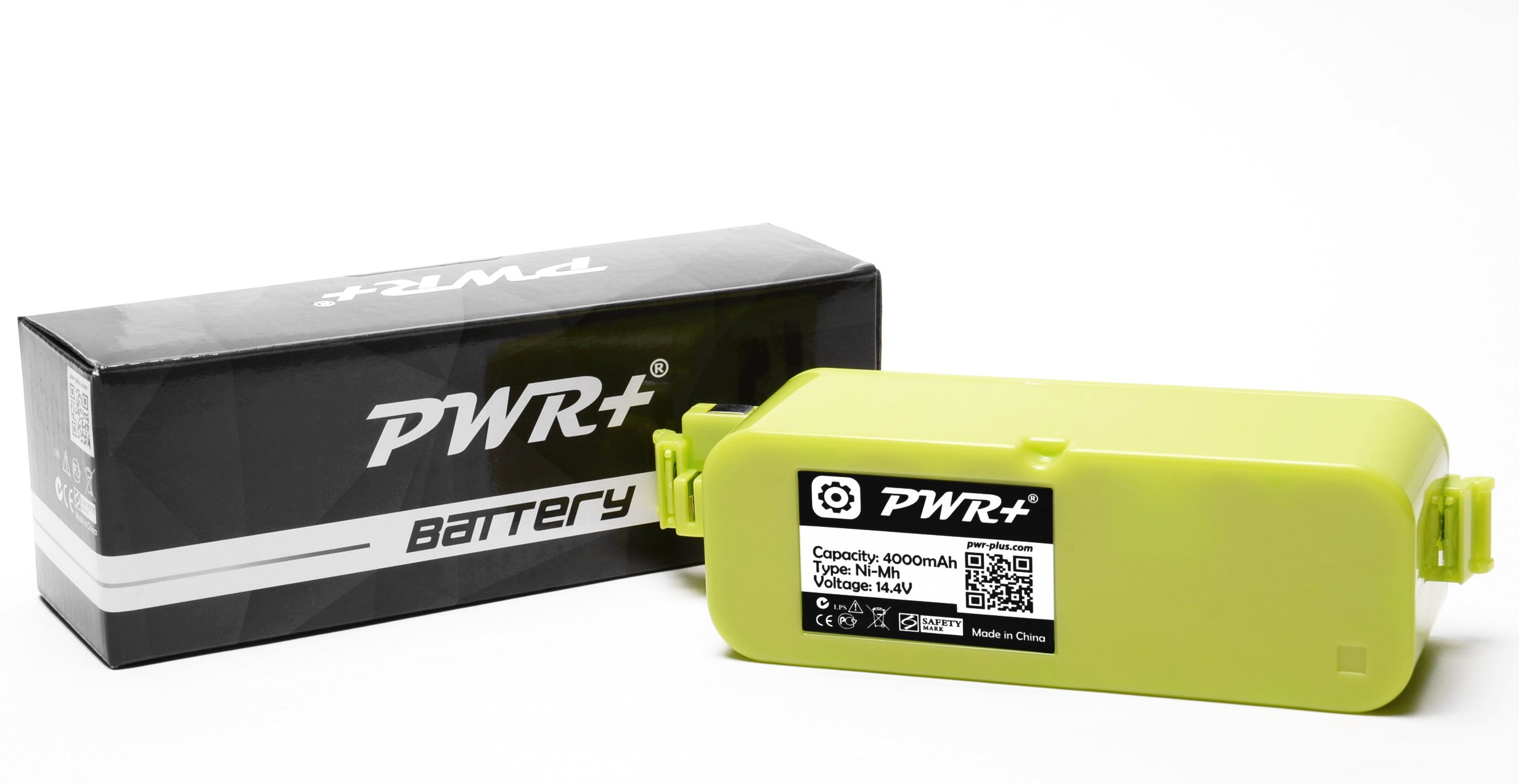 Pwr+ 4000mAh Extended Replacement-Battery for Irobot-Roomba 400 405 410 415 416 418 4000 4100 4105 4110 4130 4150 4170 4188 4210 4220 4225 4230 4232 4260 4296 400-Discovery-Create Dirt-Dog-Schedular