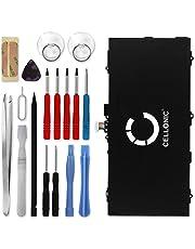 Cellonic® Premium Akku kompatibel mit Samsung Galaxy Tab S 10.5 (SM-T800 / SM-T805) inkl. Werkzeug-Set (7900mAh) EB-BT800FBU Ersatzakku Batterie Tabletakku