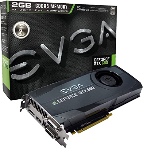 Amazon.com: EVGA GeForce GTX 680 2048 MB GDDR5, DVI, DVI-D ...