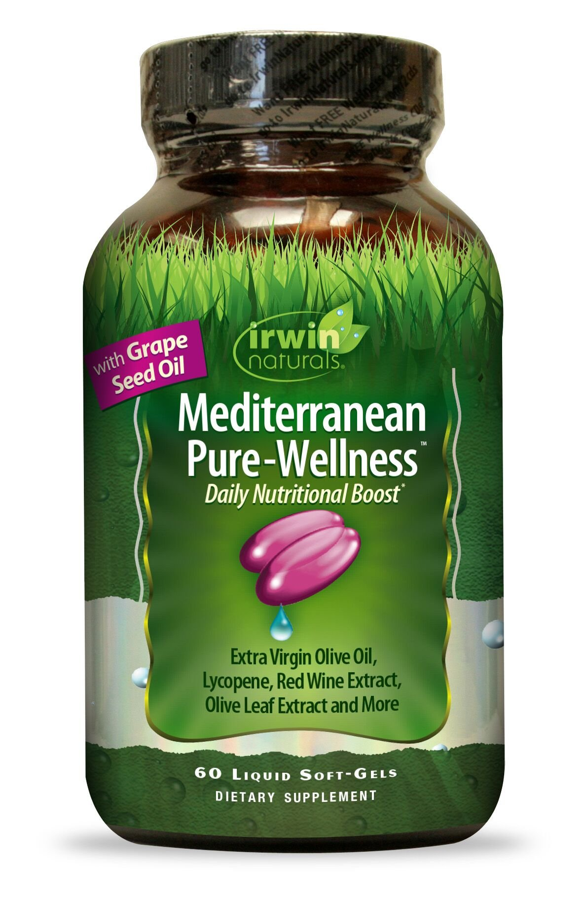 Irwin Naturals Mediterranean Daily Wellness Supplement, 60 Count