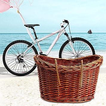 per Cesto Mimbre para Bicicletas Retro Vintage Cestas Bicicleta ...