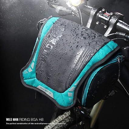 Amazon com: anyilon for Wild Man Bicycle Bag Waterproof