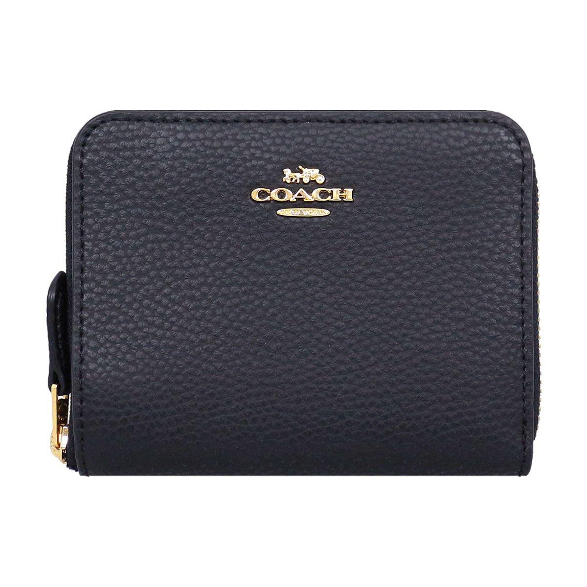 [コーチ] COACH 財布 (二つ折り財布) F24808 ブラック IMBLK レザー 二つ折り財布 レディース [アウトレット品] [ブランド] [並行輸入品] B07D2D3S83