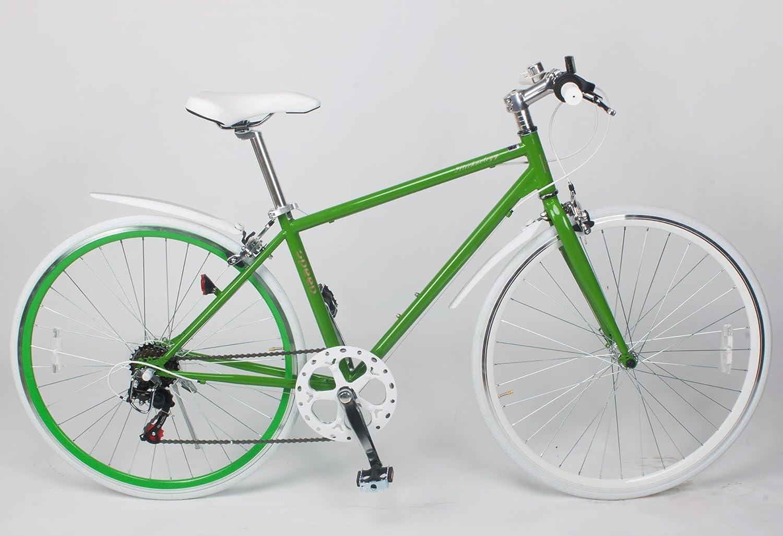 21TTechnology Crossbike クロスバイク6段変速 700×28C