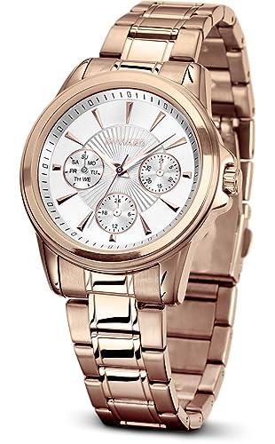 Reloj Duward para mujer colección Lady Femme modelo D25707.21 REGALO balleta profesional de limpieza de joyas: Amazon.es: Relojes