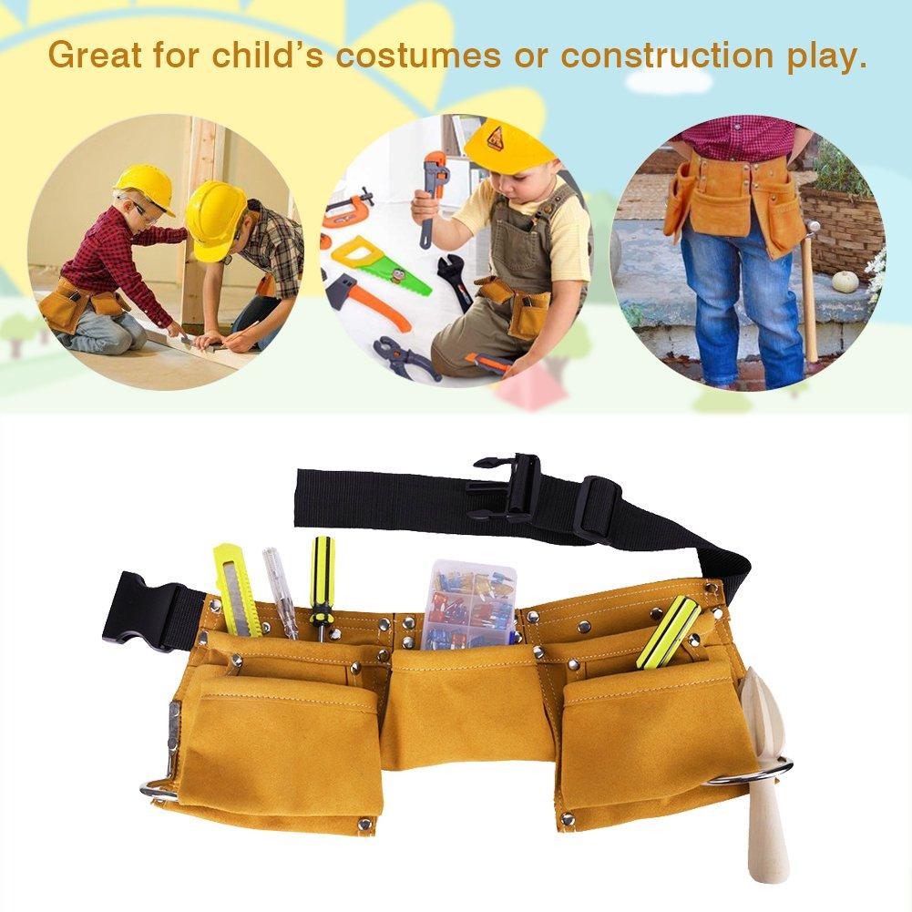 Himm enfants Outil Outil de construction de ceinture ceinture outil pour enfant Tablier Candy Pochette pour Youth Dress Up et Fantaisie