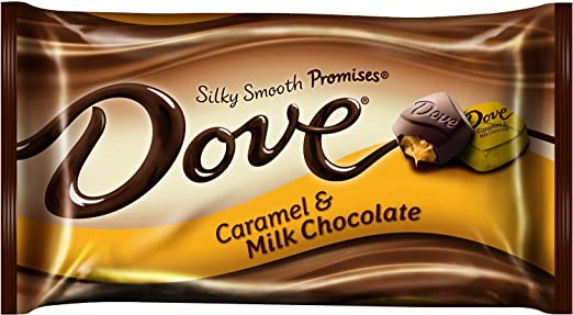 Dove Silky Smooth Promises ~ Caramel & Milk Chocolate ~ 7.94oz