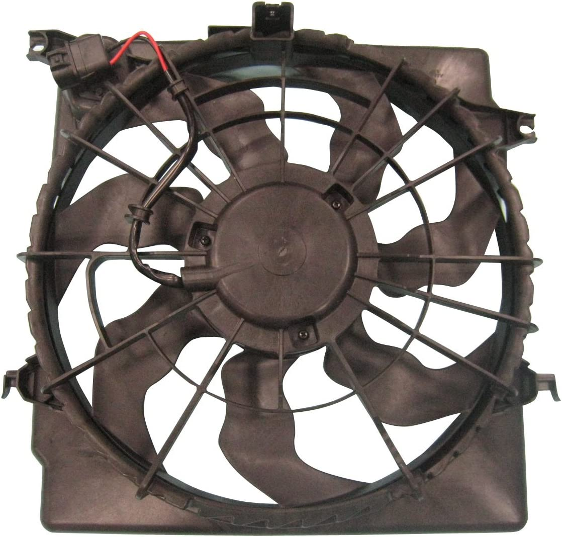 TYC 622620 Replacement Cooling Fan Assembly