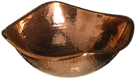 New Amazon.com | Copper Hammered Mixing Bowl, 100% Pure Heavy Gauge  BP58