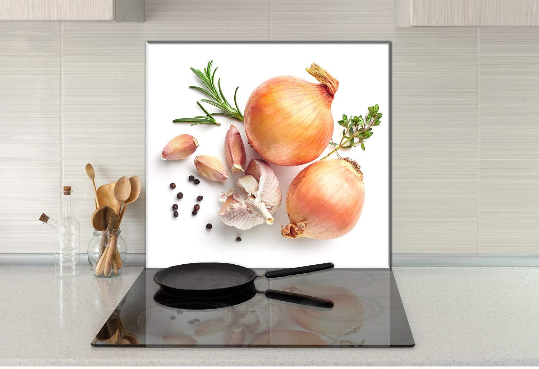 Compra decorwelt - Panel de Vidrio antisalpicaduras para ...