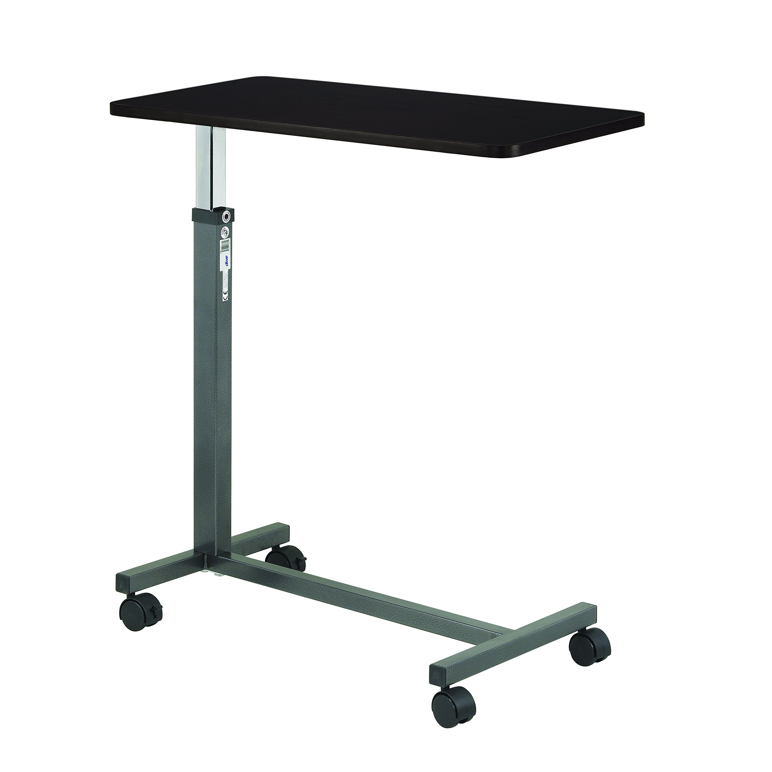 Drive Non Tilt Top Overbed Table, Silver Vein, Model - 13067