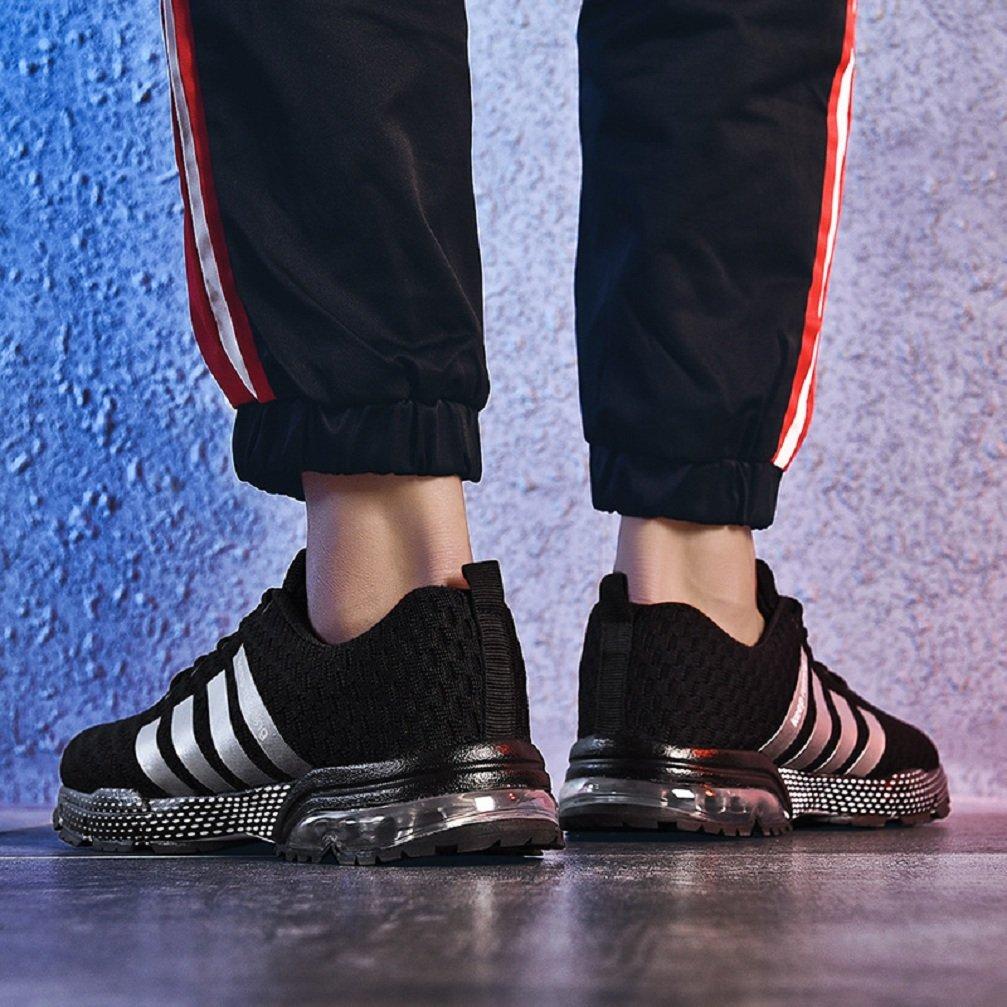 SOLLOMENSI Chaussures de Course Running Comp/étition Sport Trail Entra/înement Homme Femme Cinq Couleurs Basket
