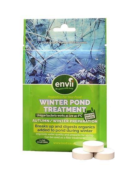 envii hiver Traitement de bassin - Format et nettoie les Organics ...