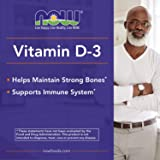 NOW Supplements, Vitamin D-3 5,000 IU, High