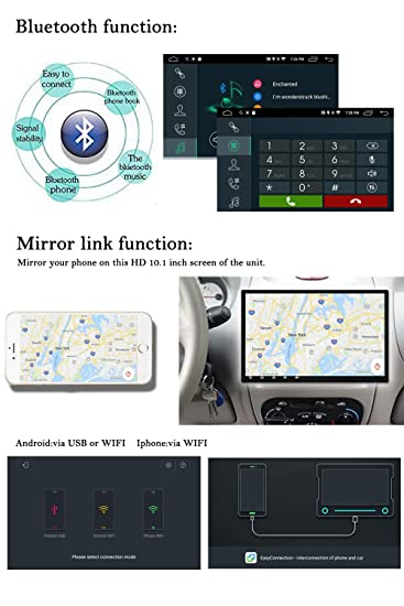 YODY 10 1 Inch Single Din Android 9 0 Car Stereo HD Capacitive Touch Screen  Car Radio Audio Support Bluetooth WiFi GPS Navigation Mirror Link (NO DVD)