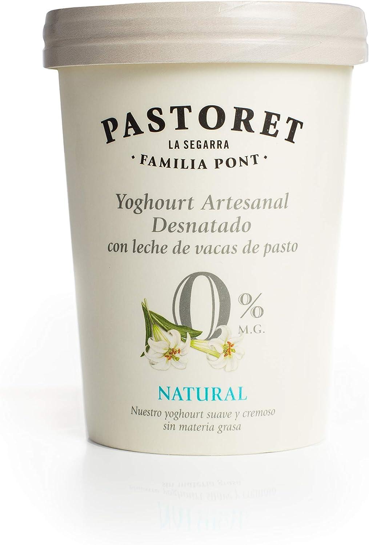 Pastoret Yogur Artesanal Desnatado, 500g (Refrigerado)