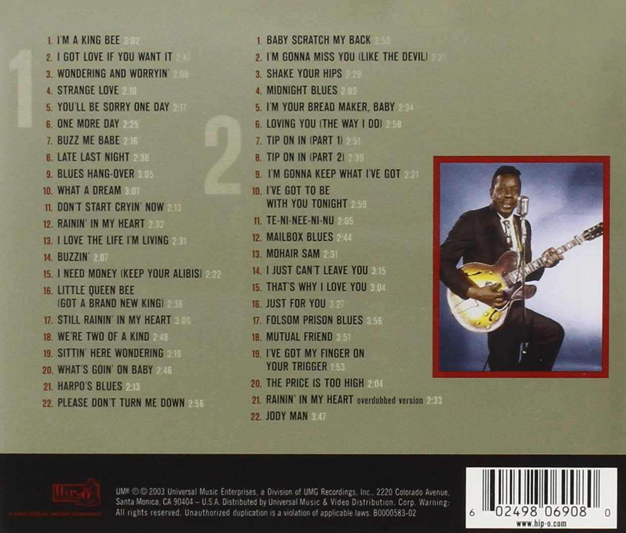 The Excello Singles Anthology [2 CD]
