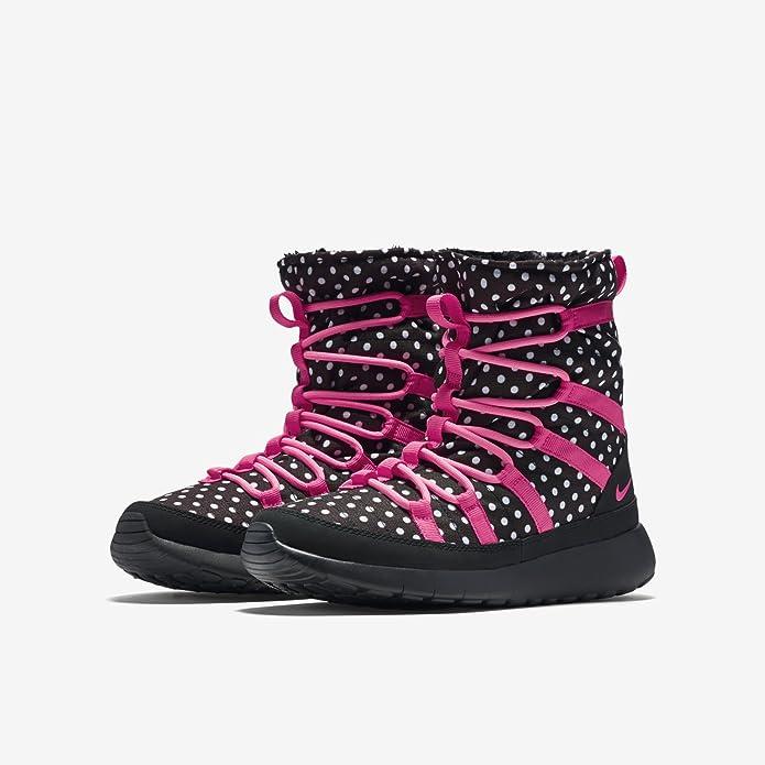 109c50cc8c6b8 ... Amazon.com Nike youth girls roshe one hi print shearing boots Boots ...