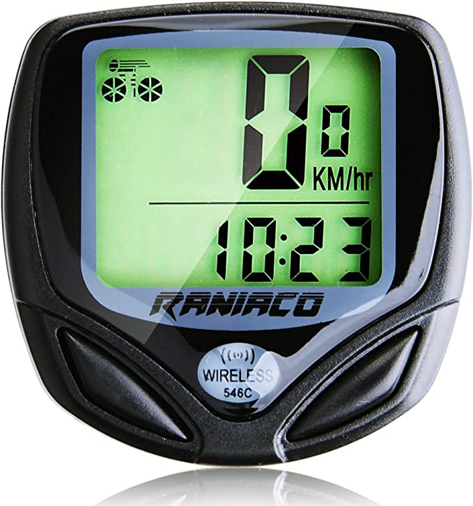 Best bike computer: Bike Computer, Raniaco Original Wireless Bicycle Speedometer