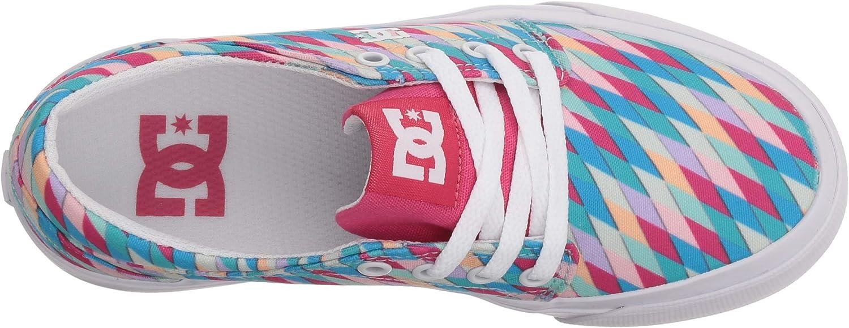 DC Youth Trase SP Skate Shoe Big Multi 11.5M M US Little Kid