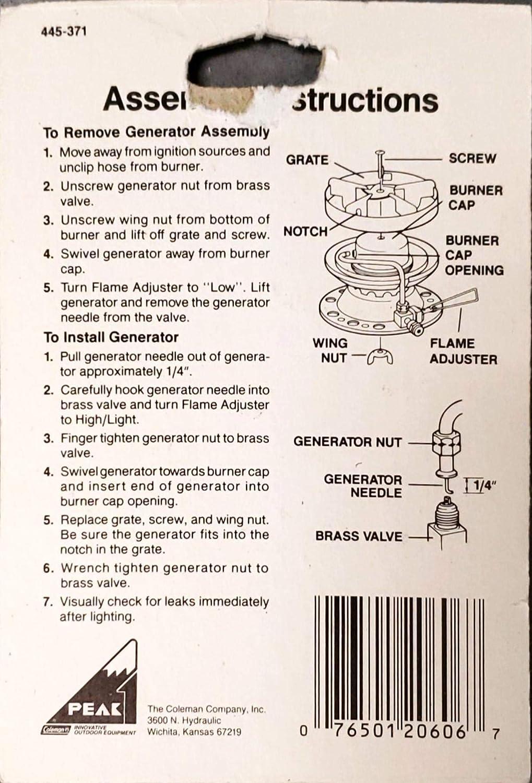 Coleman 214B5891 Generator Kerosene Lantern Greys Distribution ...