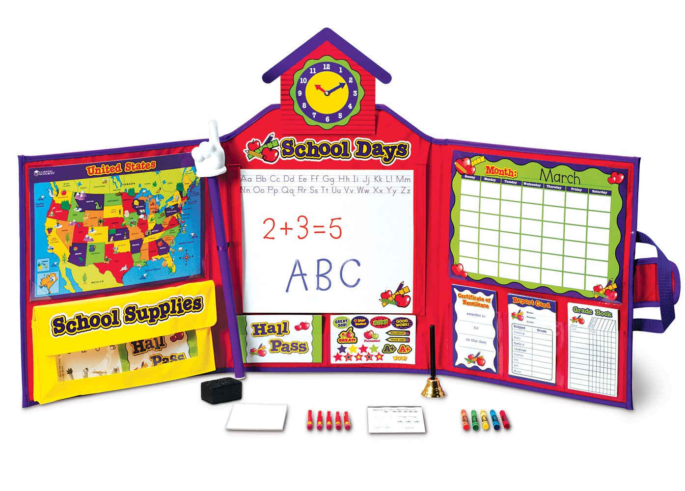 Learning Resources Pretend & Play School Set 8