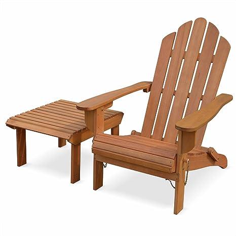 Chaise de terrasse Retro Eucalyptus FSC siège de Plage ...