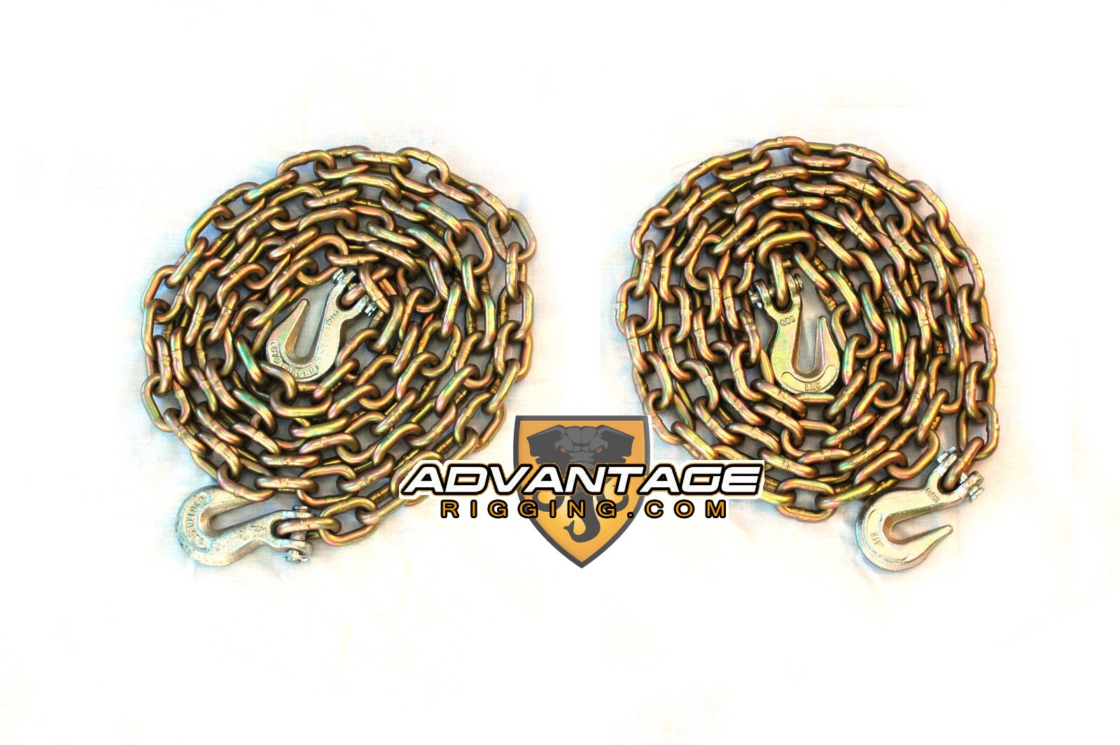 5/16'' Transport Hauling Load Package for Trailer Loads - (2) 10' Foot Chains