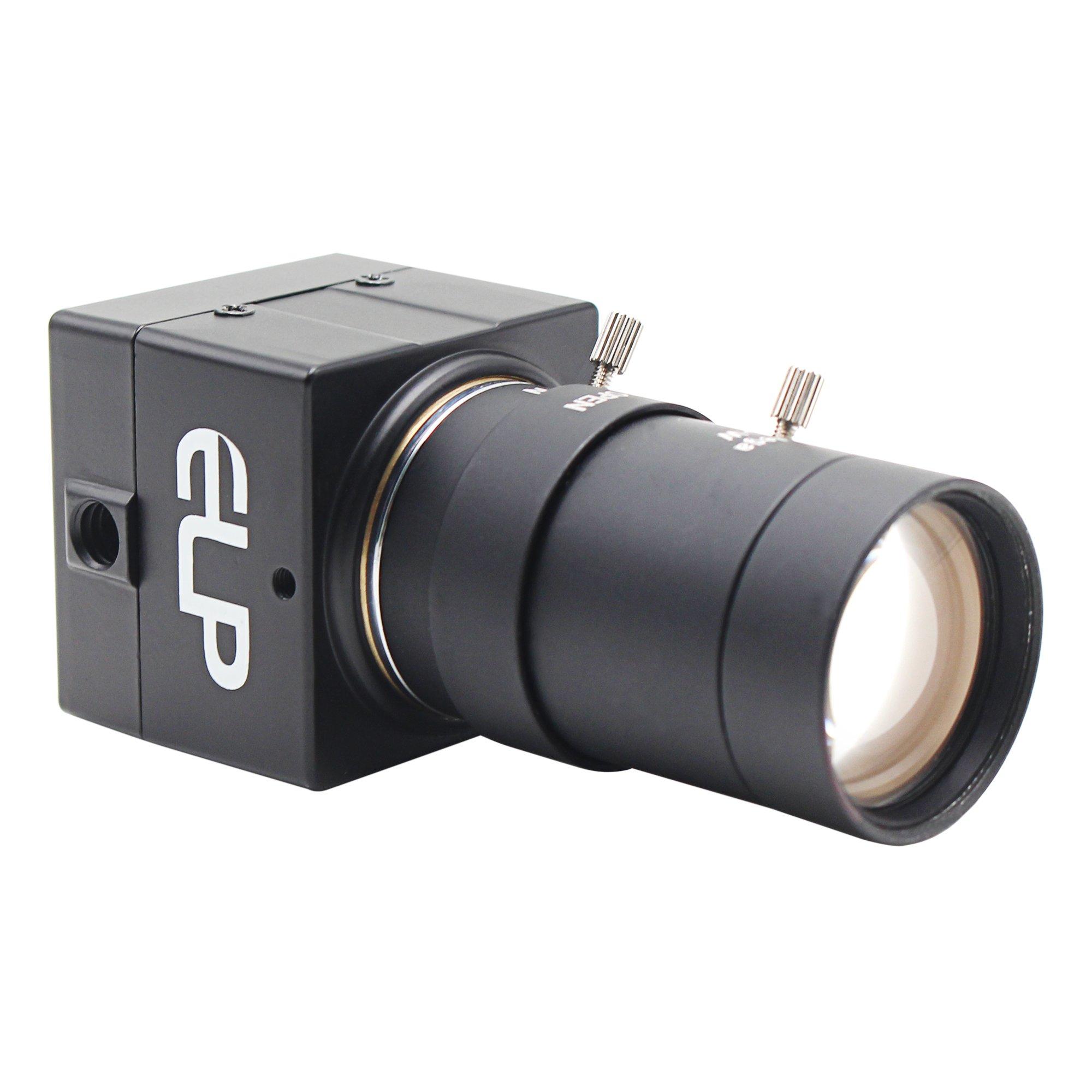 Camera USB 8MP 5-50mm Manual Varifocal Lens Webcam Sony IMX179 Sensor for PC ELP