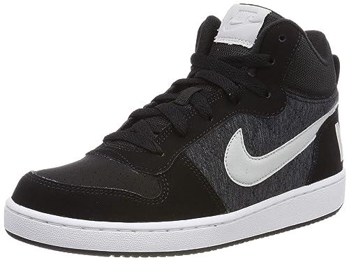 7759d2e598 Nike Boys Court Borough Mid Se (Gs) Basketball Shoes: Amazon.co.uk ...